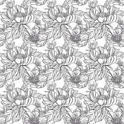 Coloriage Anti Stress Fleur
