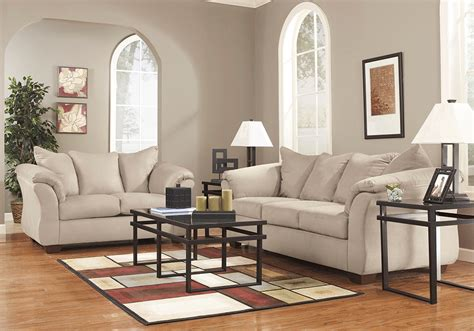 overstock living room sets darcy stone sofa set lexington overstock warehouse