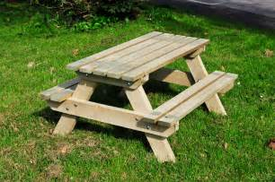 picnic tables the wooden workshop oakford