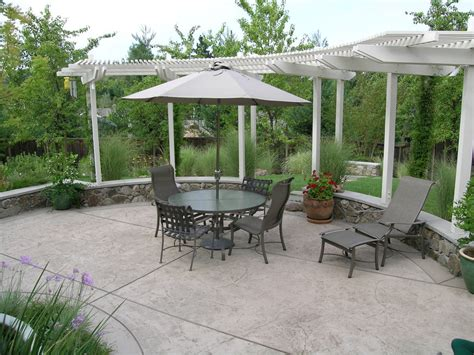 Marvelous Concrete Patio Cost Decorating Ideas Gallery In Concrete Backyard Patio