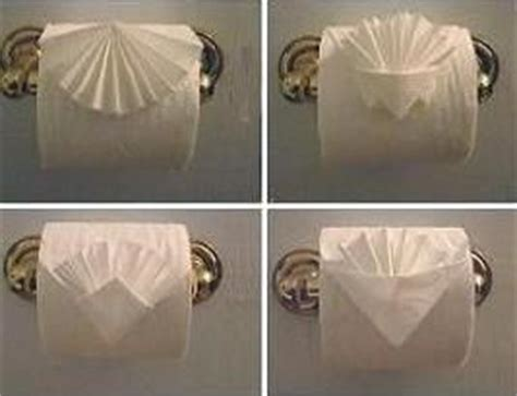 Fancy Toilet Paper Folding - toilet paper origami ideas toilettenpapier
