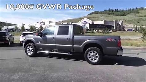 Ford Vehicles 2015 by The New 2015 Ford F 250 Lariat Diesel In The Mountains Of