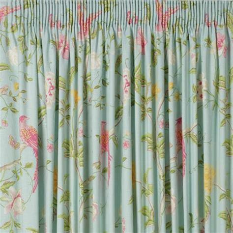 summer curtains summer palace floral pencil pleat ready made curtains