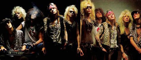 biografia cada uno integrantes guns n roses qual a origem dos nomes das bandas de rock