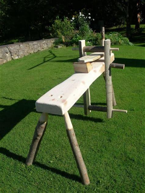 draw knife bench greenwood craft week woodland skills centre