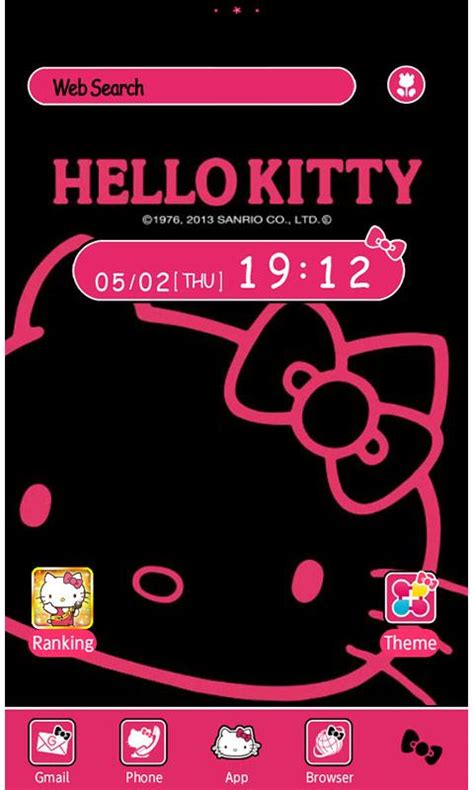 hello kitty messenger themes apk hello kitty launcher home android apps on google play