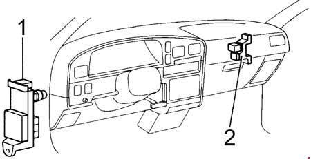 1993 Toyota Hilux T100 Pickup Fuse Box Diagram 187 Fuse