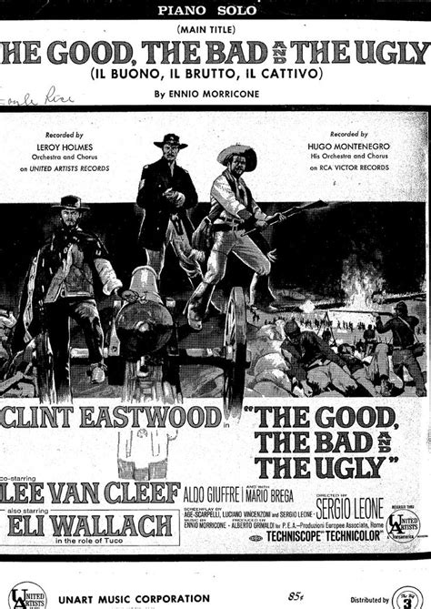 theme song good bad ugly 185 best images about partituras on pinterest