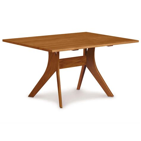 Cherry Dining Table Copeland Cherry Solid Top Dining Table American Made Modern Contemporary