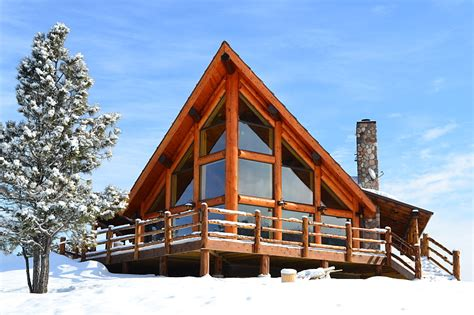 chalet home log home photos rustic chalet home tour expedition log homes llc