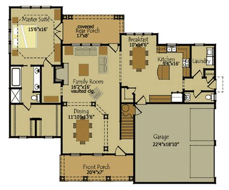 Country Cottage Floor Plans - beautiful country cottage house plan timber frame houses