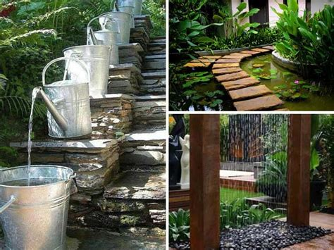 Backyard Water Ideas by 15 Awesome Diy Backyard Ideas
