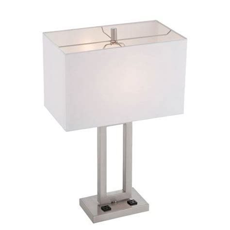 Lite Source Ls 16993 Polished by Lite Source Fiadi Polished Steel One Light Table L Ls