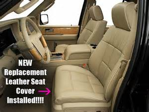 Seat Covers For Lincoln Mkz 2007 2013 Lincoln Navigator Driver Side Bottom Perforated