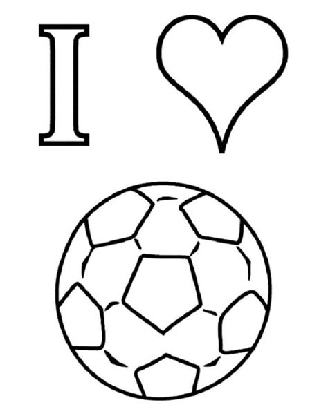 Printable Coloring Pages Soccer | free soccer coloring pages coloring home