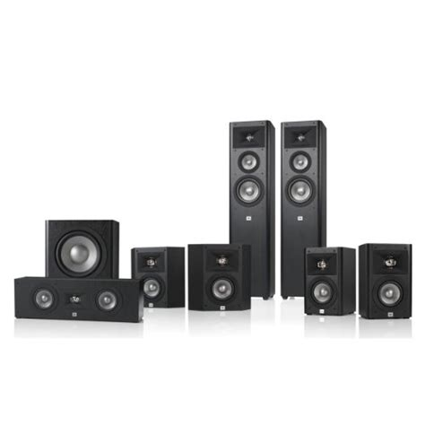 jbl studio 270 7 1 home theater speaker system package