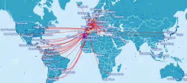 British Airways Route Map by Pin British Airways Route Map Europe On Pinterest
