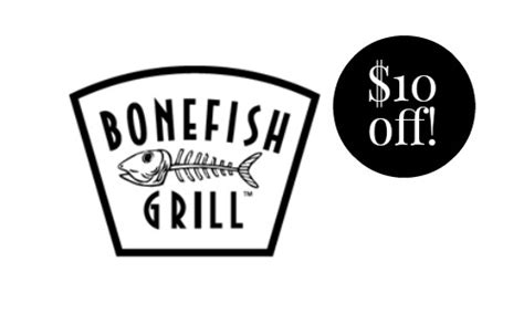 Where Can I Buy Bonefish Grill Gift Cards - bonefish grill coupon 10 off more dining deals southern savers
