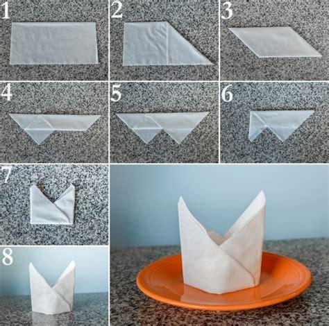 papierservietten falten zu jedem anlass 27 anleitungen - Serviettenfalttechniken Mit Papierservietten
