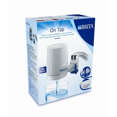 Zero Water Faucet Filter by Brita On Tap Water Filter System I N 5090171 Bunnings