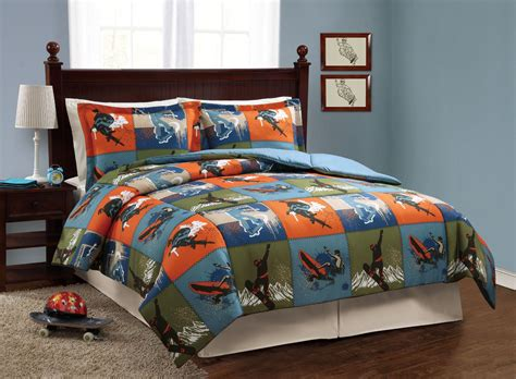 boys full comforter boys bedding brandream kids bedding set boys train