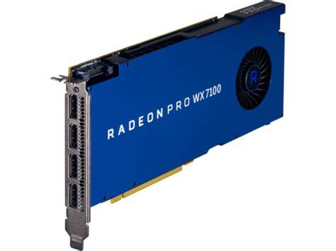 Amd Radeon Pro Wx 7100 amd radeon pro wx 7100 8gb graphics card hp 174 official store