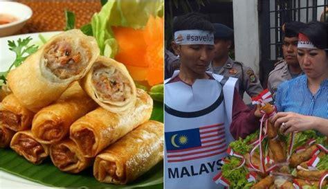 drama  kejadian rebutan makanan indonesia malaysia