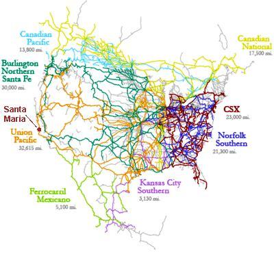 map us railroads maps us map railroad