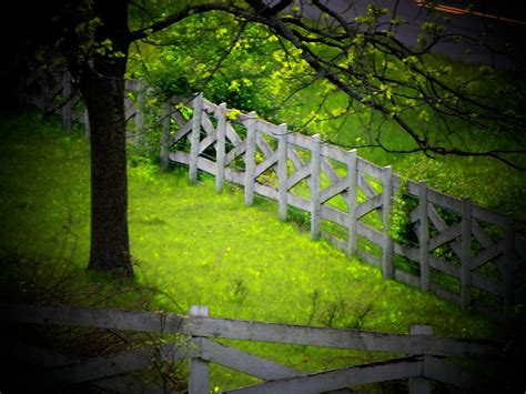 country l country fence photograph by michael l kimble