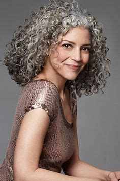 looking with grey hair best 25 curly gray hair ideas on pinterest why grey