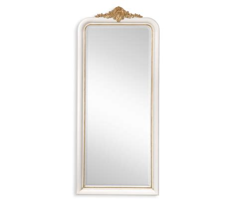 White & Gilded Mirror (Full Length)