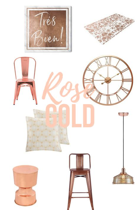 rose gold home decor how to decorate with rose gold interiorsbykiki com