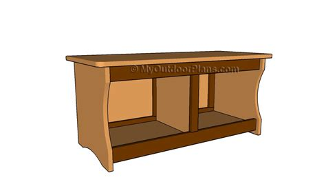 wood bench with storage plans storage bench plans free outdoor plans diy shed