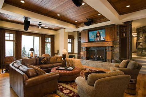 rustic interior design ideas for your home decoration