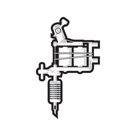 tattoo machine logo png printed vinyl tattoo machine stickers factory
