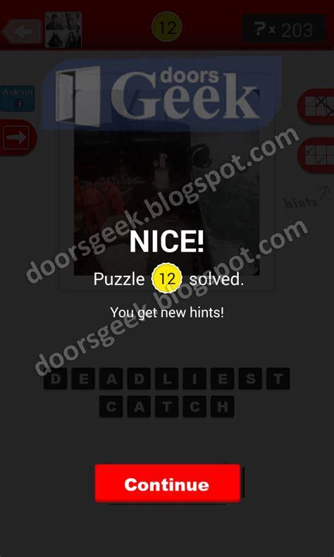 deadliest catch emoji 2 answers guess the tv show level 20 12 answer doors geek