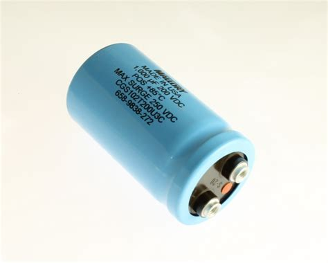 capacitor eletrolitico 1000uf 200v usa made mallory 1000uf 200v large can electrolytic capacitor cgs102t200u3c ebay