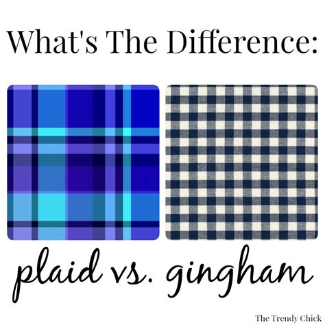 define tartan the trendy chick what s the difference plaid vs gingham