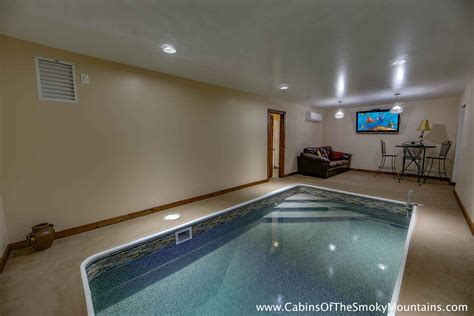 Cabin In Gatlinburg With Indoor Pool by Gatlinburg Cabins With Indoor Pools