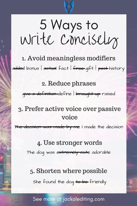 Can I Write Less Than Word Limit On Mba by 5 Ways To Make Your Writing Less Wordy Or How To Write