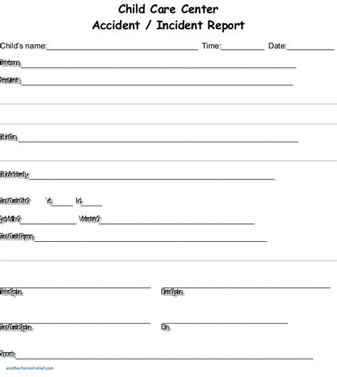 incident hazard report form template awesome incident hazard report form template free resume