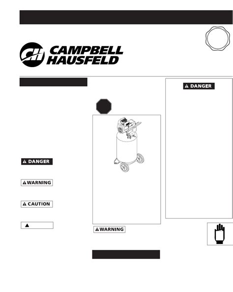 campbell hausfeld air compressor wl user guide