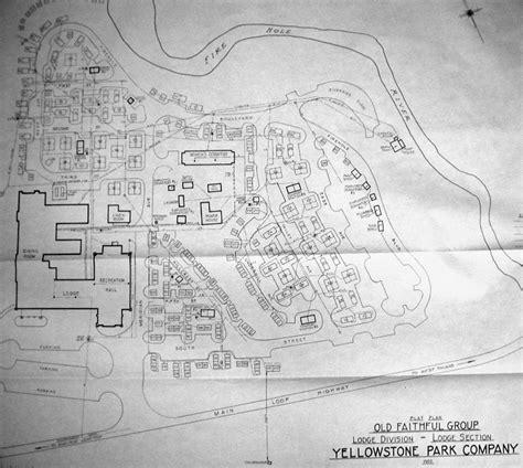 old faithful inn floor plan maps cabin rentals near yellowstone island park