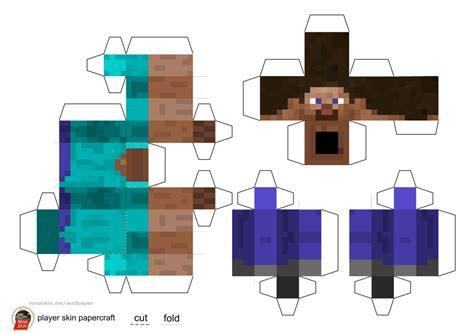 minecraft steve paper template minecraft steve paper template choice image template