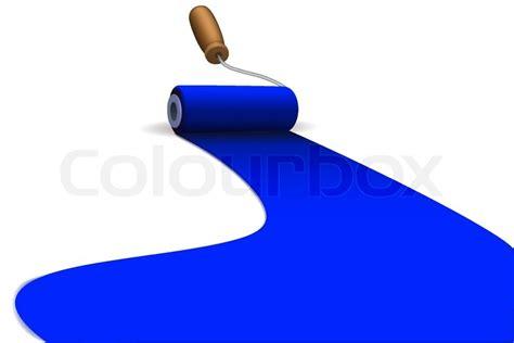 illustration of roller paint brush stock vector colourbox