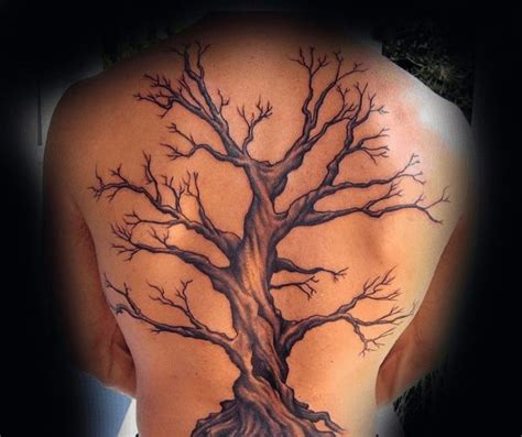 oak tree tattoo designs best 25 back tattoos ideas on back