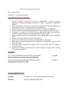 Resume Samples For Experienced Software Professionals resume for experienced professionals resume for experienced