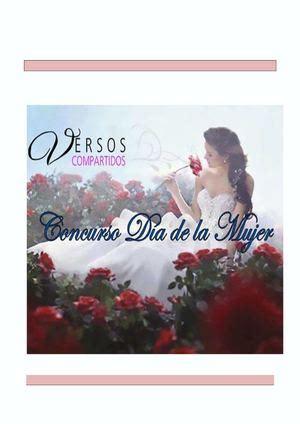 libro 388 mujer de verso calam 233 o poemas del concurso del d 237 a de la mujer de versos compartidos 2015