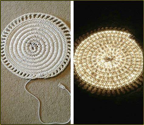 Rope Light Crochet Rug by Led Rope Light Kitchen Cabinet Home Design Ideas