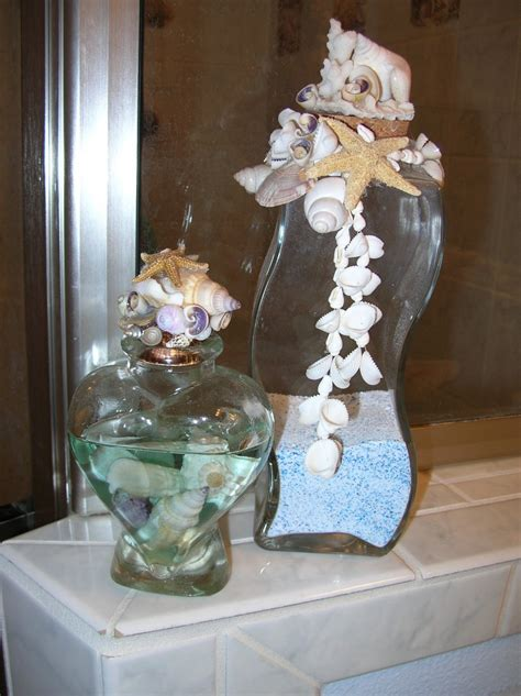 seashell bathroom decor ideas ideas for bathroom decorating theme with natural seashells